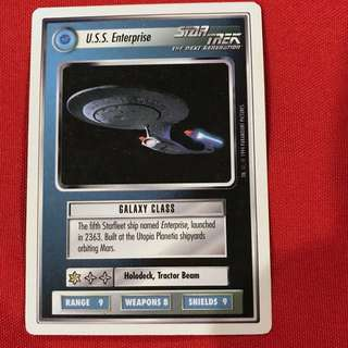 Star Trek The Next Generation CCG 1994 Premiere Edition White Border