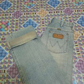 WRANGLER - Jeans Pria ORIGINAL - Second Import 002