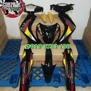 COVERSET YAMAHA 135LC V1 FIRST MODEL DESIGN RX135 SPARK