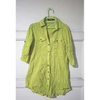 Lime Green Polo Shirt