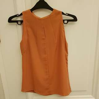 Atasan (Oranye), tanpa lengan
