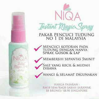 Niqa Instant Magic Spray