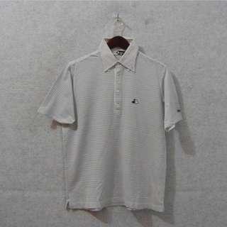BLACK & WHITE Poloshirt -Size: M