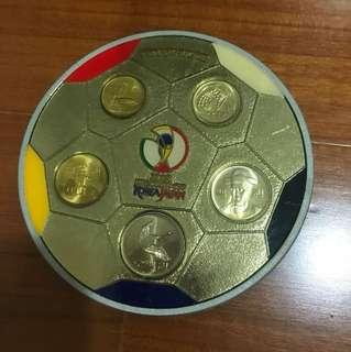 🚚 2002 fifa World Cup 紀念幣收藏