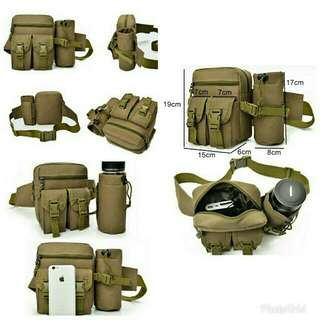 Tas Tactical Army Botol