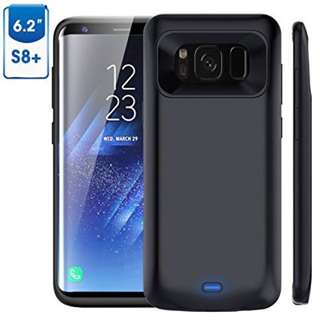 Galaxy S8 Plus Battery Case, 5500mAh Rechargeable