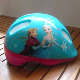 Kids helmet - Frozen theme