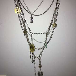 Free People multi-layered necklace