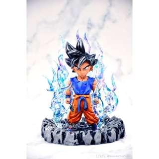 龍珠超 dragonballsuper 悟空 Goku 自在極意功 重塗改造特效地台(pm查詢)