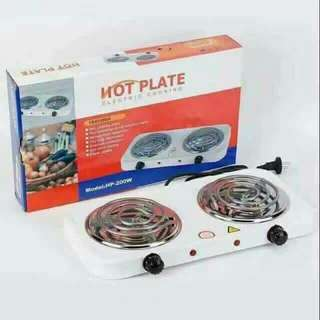 Electric Stove Hot Plate- Double Burner