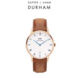 [議價免問] Daniel Wellington Dapper Durham 34/38mm Rose Gold Watch