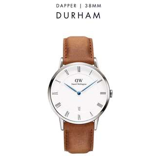 [議價免問] Daniel Wellington Dapper Durham 34/38mm Silver Watch