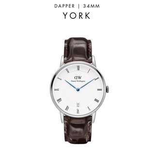 [議價免問] Daniel Wellington Dapper York 34/38mm Silver Watch