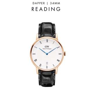 [議價免問] Daniel Wellington Dapper Reading 34/38mm Rose Gold Watch
