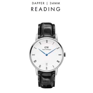 [議價免問] Daniel Wellington Dapper Reading 34/38mm Silver Watch