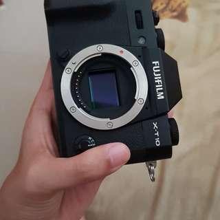 Fujifilm xt10 mirrorless body