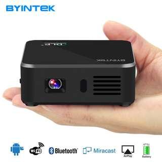 BYINTEK UFO D9 Portable Pocket USB Video Wifi LED 1080P DLP Mini Phone HD Projector For Smartphone
