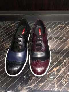 Prada皮革鞋👞💕🇫🇷