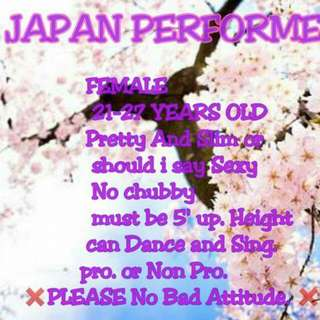 HIRING JAPAN ENTERTAINER