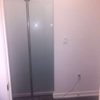 Silver Chrome Floor Lamp