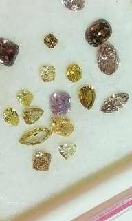 彩鑽 裸石