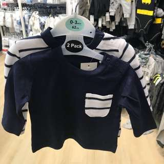 PRIMARK BABY BOY SET OF 2 PIECES LONG SLEEVE