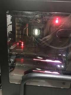 正版windows 10 全高效終極機 水冷 超頻 ,I7-6700K CPU @ 4.00 GHz 32GB RAM GTX 980 6GB TI SLI
