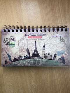 Weekly Planner (Travel Design)