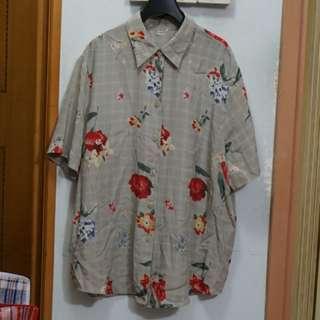 Vintage floral pattern shirt