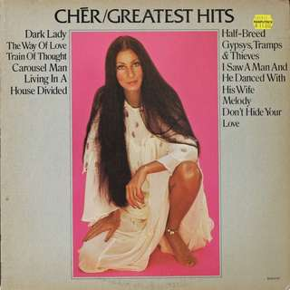 Cher, Vinyl LP, used, 12-inch original pressing