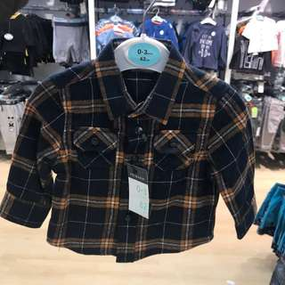 PRIMARK BABY BOY CHECKERS SHIRT