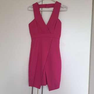 Pink Dotti dress size 6