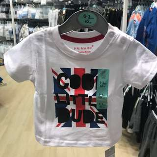 PRIMARK BABY BOY 2 PIECES T