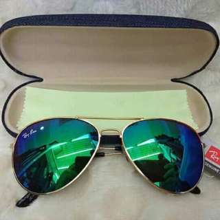 Ray-Ban Aviator Best Shades with Wiper & Hard Case