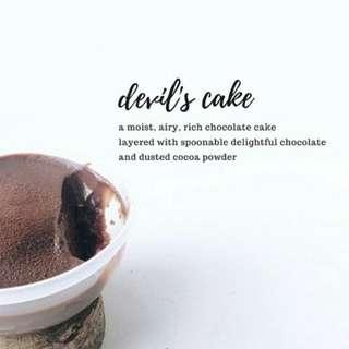 Devils cake chocho