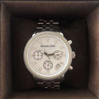 Michael Kors MK5020 Silver-Tone Ritz Watch