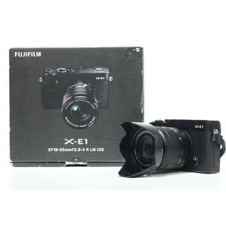 Fujifilm X-E1 Mirrorless with XC 16-50mm Kit Lens
