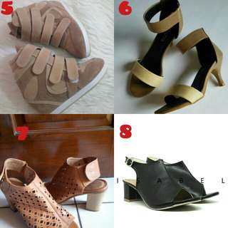 Heels / Boots / Wedges / Ankle Strap