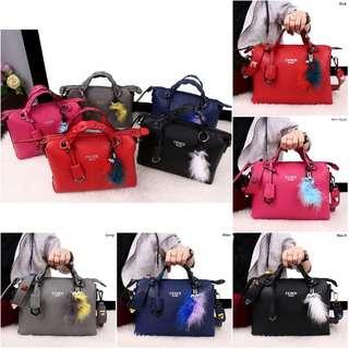 Fendi By The Way Ghw EliseFur Bags