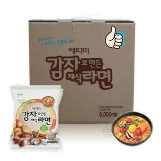 Korean Spicy Ramen (1 box)
