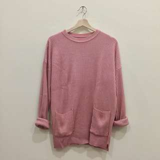 Pompom Sweater Rajut