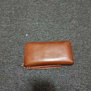 Dark Brown Fossil Wallet