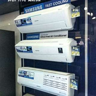 Brandnew SAMSUNG Inverter Split type Aircon SALE 2018
