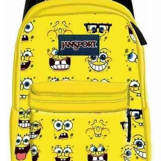 Original Made to Order Jansport Bags (Spongebob)