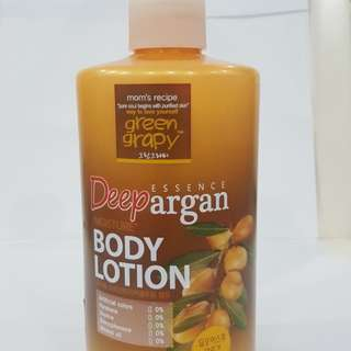 GreenGrapy Deep Argan Moisture Body Lotion (500g)