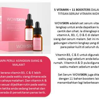 WOWSKIN Serum Set