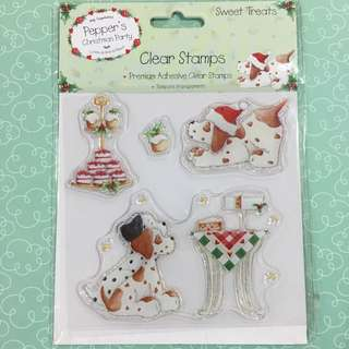 Christmas Clear Stamp 5