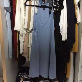 Forever 21: blue dress