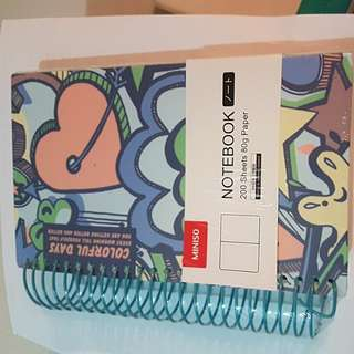 Miniso Colourfull Notebook