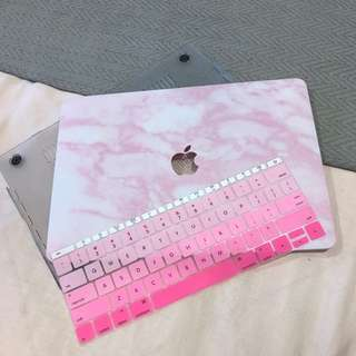 "Mac book air 13"" laptop case and keyboard protector"